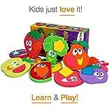 learning tub toys - Bathtub Toys - Baby Puzzles - Baby Bath Toys - Tub Toys for Kids - Educative Toys - Bath Toys for Toddlers - Learning Toys - Pool Toys Geometric Shapes - Fine Motor Skills - Bath Time so much Fun!