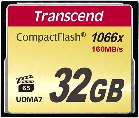 Amazon.com: Transcend Información Compact Flash Card, none ...