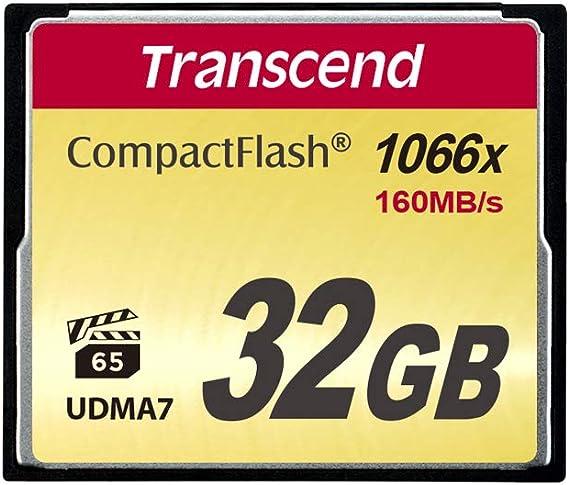 Transcend 32gb Compactflash 1000 Speicherkarte Computer Zubehör