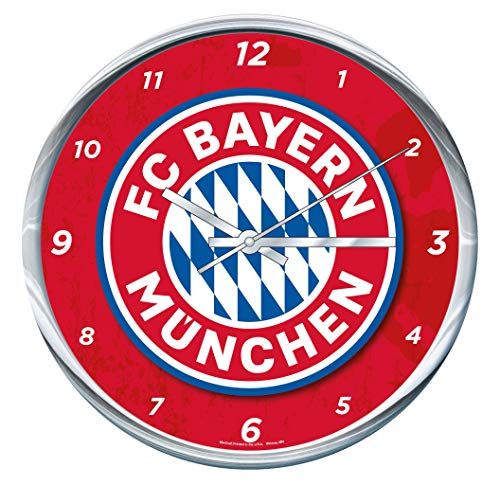 Wincraft FC Bayern Munich Wall Clock Chrome Plated 12