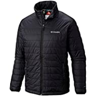 Columbia Sportwear Mens Crested Butte II Jacket, Black, Extended Sizes