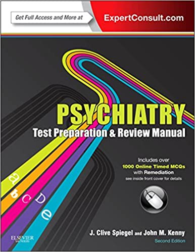 Amazon com: Psychiatry Test Preparation and Review Manual E