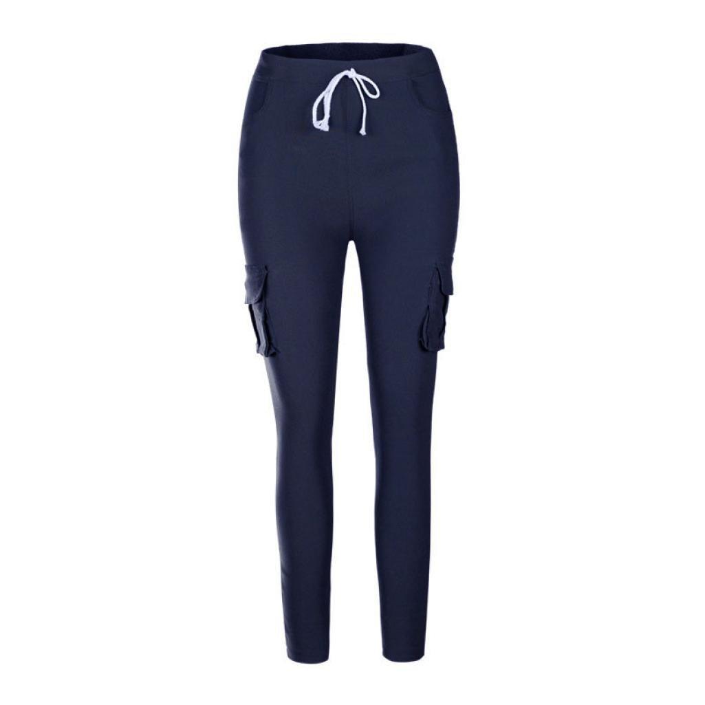 Poche Haute Jeans Taille Crayon Greatestpak ÉlastiquesFemme Pantalon pantalon Avec Pantalons Extensible Aj354RL