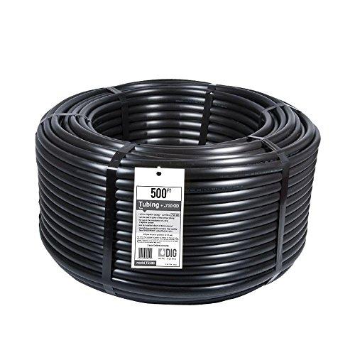 "DIG TS500 1/2"" .620 x .710 Poly Irrigation Tubing, 500"