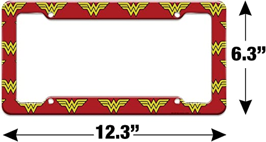 Graphics and More Aquaman Logo License Plate Tag Frame