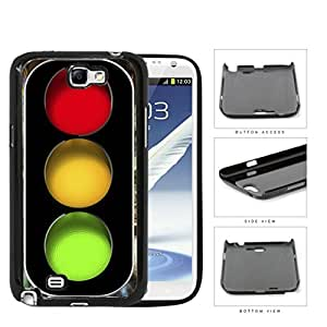Traffic Light Signal Hard Plastic Snap On Cell Phone Case Samsung Galaxy Note 2 II N7100