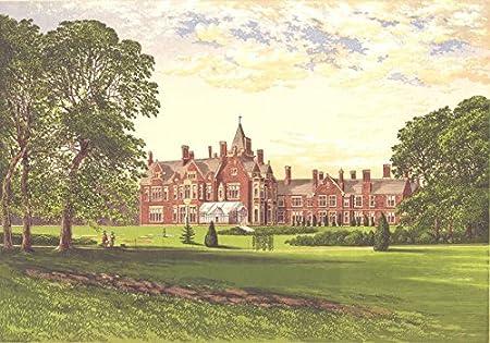 Surrey Bagshot Park Windsor Royal House Old Print 1894 Amazon Co Uk