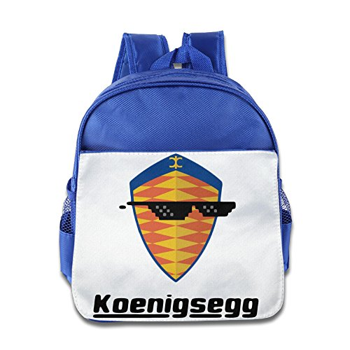 XJBD Custom Superb Sunglass With Koenigsegg Car Logo Kids Children Schoolbag For 1-6 Years Old - Sunglasses Cent 50