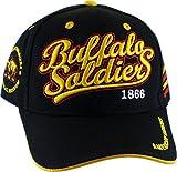 Buffalo Soldiers Commemorative S2 Mens Cap [Adjustable - Black]