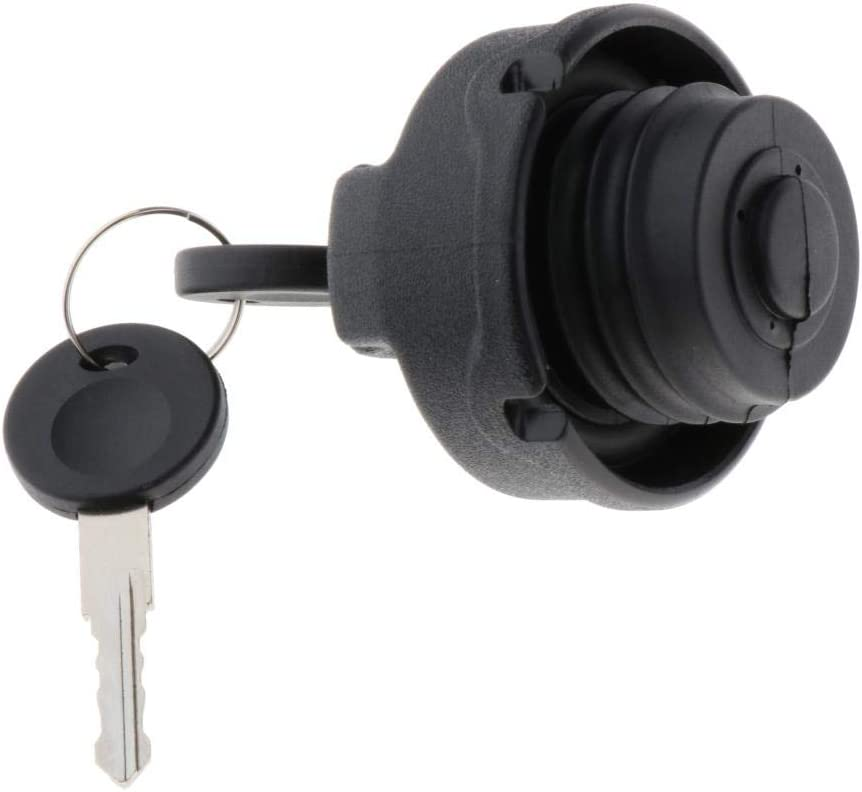Fenteer Fuel Petrol Cap+Key Locking Tank Replace Parts fits for VW Beetle Caddy