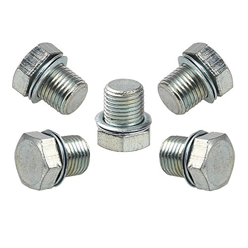 Hipa (Pack of 5 Cylinder Decompression Hole Plug for STIHL MS210 MS230 MS240 MS250 MS260 MS341 MS360 MS440 MS460 MS650 MS660 021 023 025 024 026 036 044 046 066 Chainsaw