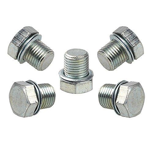 (HIPA (Pack of 5) Cylinder Decompression Hole Plug for STIHL MS210 MS230 MS240 MS250 MS260 MS341 MS360 MS440 MS460 MS650 MS660 021 023 025 024 026 036 044 046 066 Chainsaw)