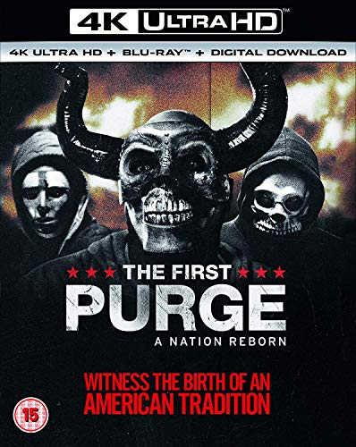 The First Purge [4K UHD + Blu-ray]