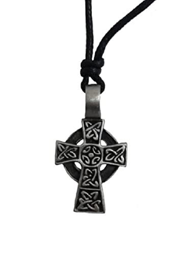 Valentines day gift mens celtic cross necklace pewter from ireland valentines day gift mens celtic cross necklace pewter from ireland aloadofball Gallery
