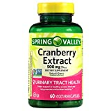 cranberry extract spring valley - Spring Valley Cranberry Extract, 60 count, 500 mg per Capsule