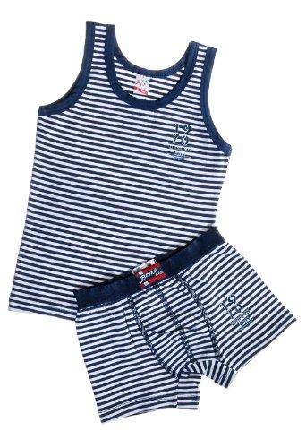 Brix Boys Tank and Boxer Brief Super Soft 100% Cotton Underwear Short Pajamas
