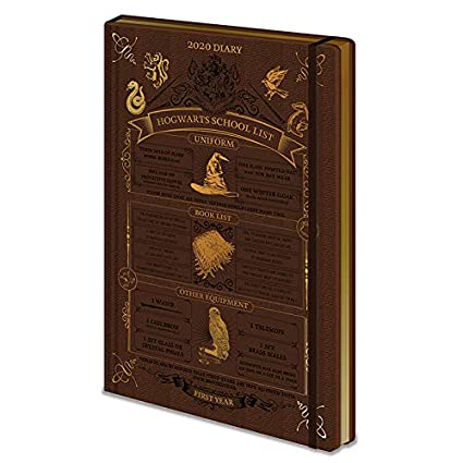 Harry Potter (Hogwarts School List) 2020 Diary