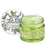 Best Facial Massage Creams - TEATOC Green Tea Water Cream   Korean Facial Review
