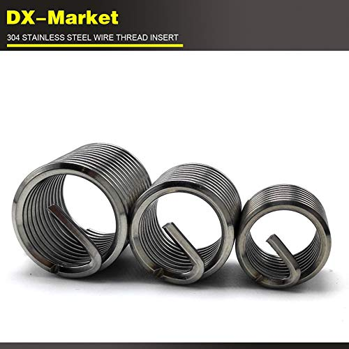 304 Stainless Steel Thread Series Wire Thread Insert 100pcs Ochoos m32.5D0.5P Chinese Fasteners