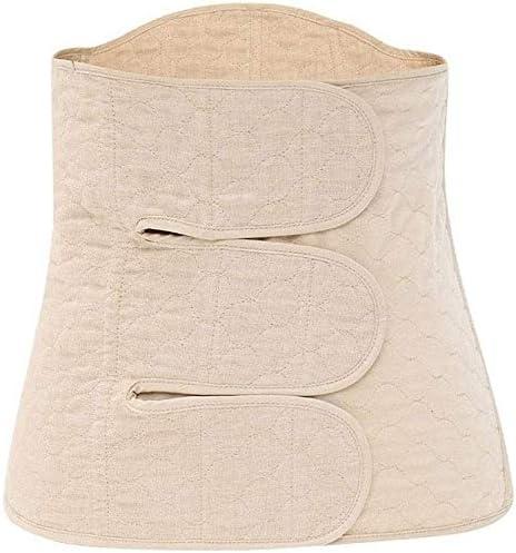 産後ベルトガードル骨盤ベルト-コットン-リカバリーベリーバンドベルト-体型形成、おなかトリミング、フラット胃用,Large