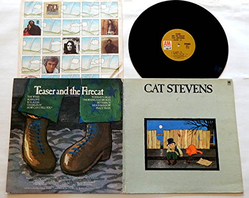 Cat Stevens LP Teaser And The Firecat (TFC1) - A&M Records 1971 - Sterling LH - ''Morning Has Broken'' ''Moonshadow'' Peace Train'' by A&M Records