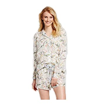 5df96c292640 Gilligan   O Malley Women s Tencel Short Pants Pajama Set at Amazon ...