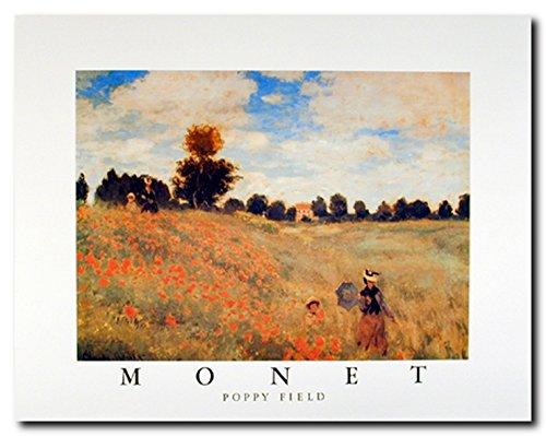 (Wall Decor Impressionist Claude Monet Poppy Field Fine Art Print Poster (16x20))