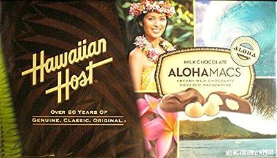 Hawaiian Host Aloha Macs Milk Chocolate Macadamia Nuts (7 oz. box, 6 ct.)