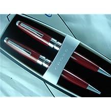 Cross Bill Blass 2010 Limited Edition Plama Red Lacquer Pen & Pencil SET