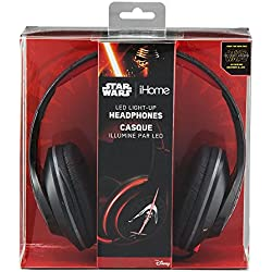 Star Wars Episode 7 Over-the-Ear Headphones Light Up Headphones ( Li-M52E7.FX )