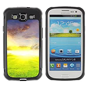"Hypernova Defender Series TPU protection Cas Case Coque pour Samsung Galaxy S3 III I9300 [Naturaleza Hermosa Forrest Verde 26""]"