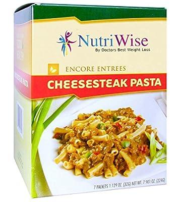 Nutriwise - Cheesesteak Pasta Diet Entree (7 Servings/box)