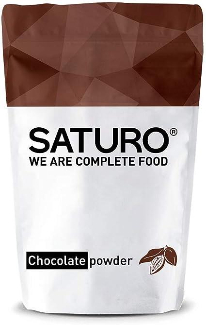 Batido en Polvo | Sustituto Alimenticio SATURO, Chocolate ...