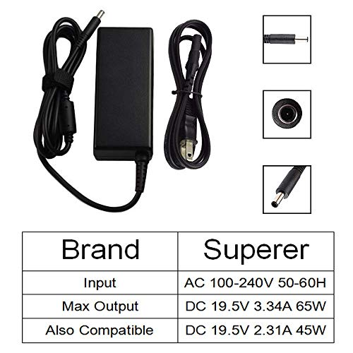 Amazon.com: [UL Listed] AC Charger for Dell Inspiron 5559 i5559 15 Laptop Power Supply Adapter Cord: Computers & Accessories