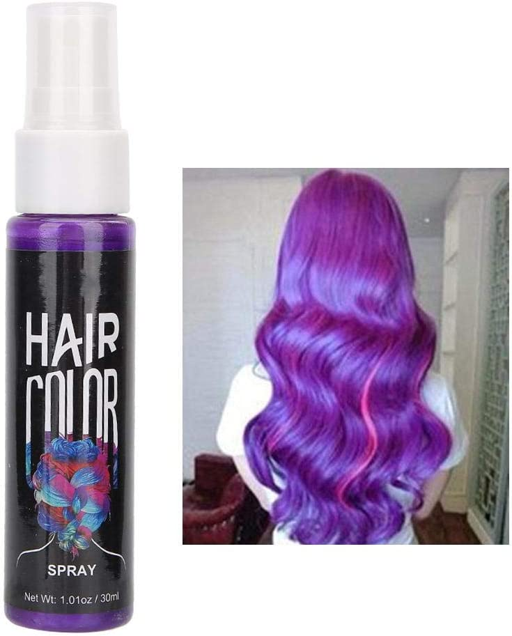 Hair Color Spray Temporal Fast Hair Styling Modeling ...