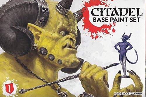 - Games Workshop Warhammer 40,000 Citadel Base Paint Set