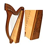 29 Strings Minstrel Harp w/ Case & 2 FREE Play Books