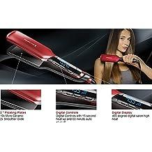 "Silk Ceramic Hair Straightener 2"" Flat Iron Straightening Iron Hairdressing Professional"