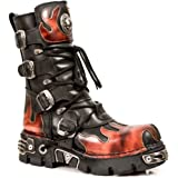 New Rock Boots Unisex Style 591 S1 Red