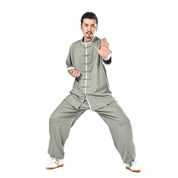 Amazon.com: ZHL&M Tai Chi Uniform Clothing – uniforme para ...