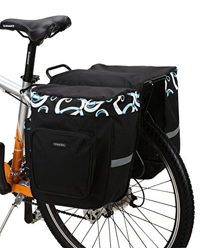 Roswheel 14154 Bike Bicycle Rear Rack Double Panniers Back Seat Cargo Trunk