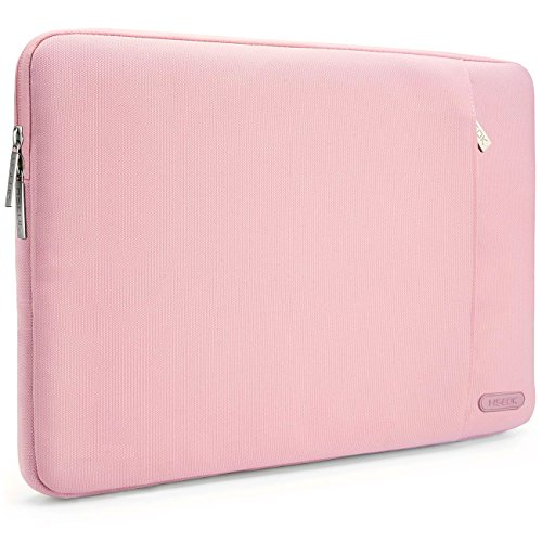 HSEOK 13-13.3 Inch Laptop Sleeve Case, Environmental-Friendly Spill-Resistant Sleeve for 13-Inch MacBook Air 2012-2017, MacBook Pro Retina 2012-2015/Pro 2012 A1278 and Most 14-Inch Laptop, Pink