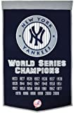 New York Yankees Official MLB 24 inch x 36 inch Dynasty Banner Flag by Winning Streak