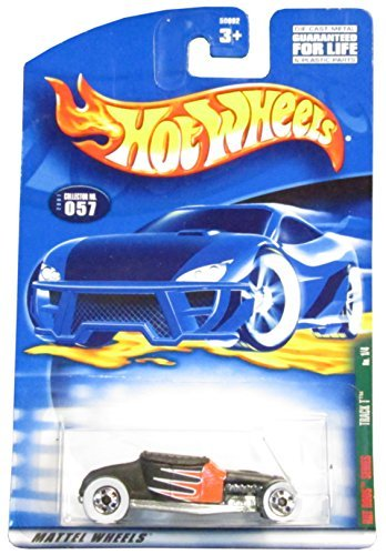 Hot Wheels 2001-057 RAT Rods Series Track T BLACK/RED 1:64 Scale