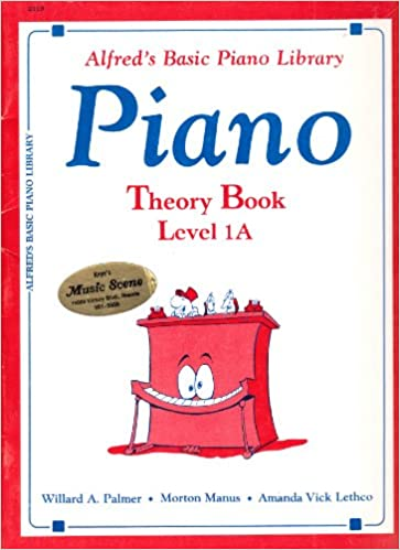 Alfreds Basic Piano Library: Theory Book Level 1A