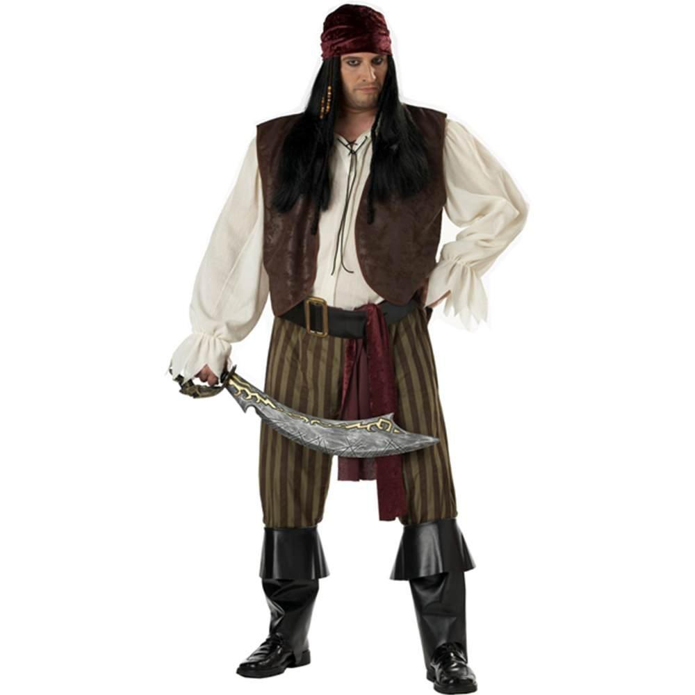 California Costumes, Disfraz de Pirata Rogue para los Hombres, Talla Plus 4XL - 5XL (Indefinido 01641)