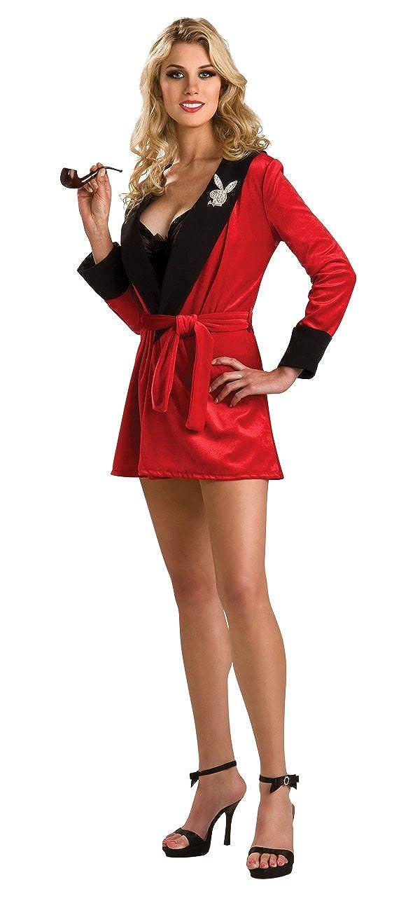 14b0140ac2a Playboy Secret Wishes Girlfriend Robe, Red Costume