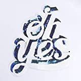 Patches - Fashion Sequins Icon Oh Yes Iron On
