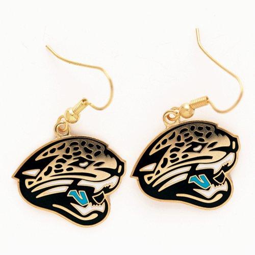 NFL Jacksonville Jaguars Earrings Jewelry Card