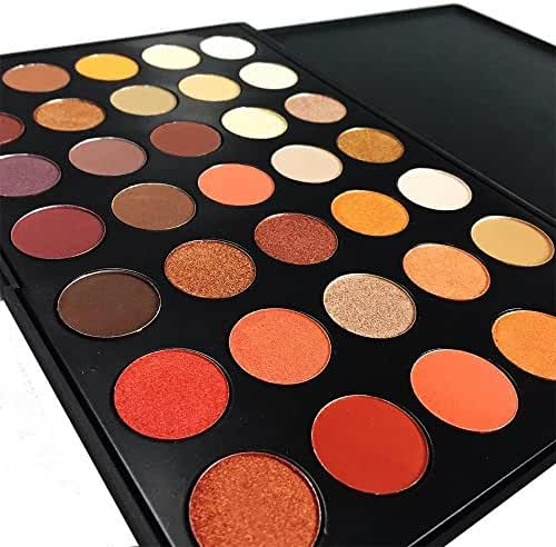 DE'LANCI 35 Color Waterproof Eyeshadow Makeup Palette Set
